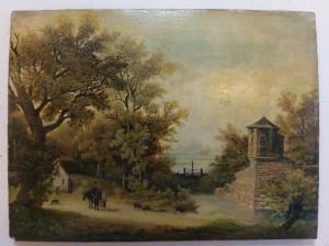 3 Schilderijenrestauratie Rotterdam Romantisch schilderij voor